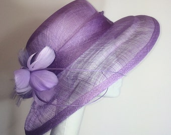 Purple Kentucky Derby Hat
