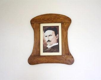 Antique wooden frame / retro style