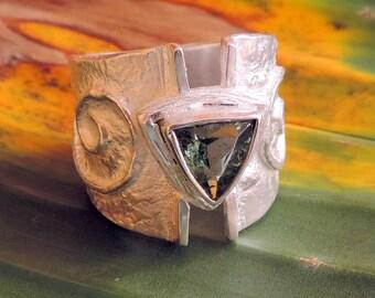 Avalon Green Tourmaline Ring
