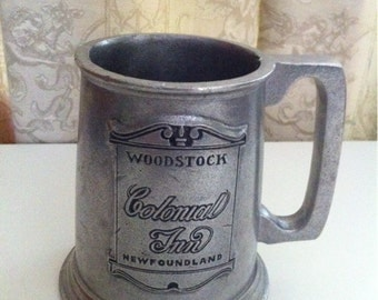 Vintage Pewter Tankard  Beer Mug by Wilton RWP.