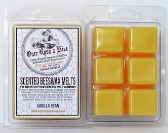 Vanilla Bean Beeswax Melts | 3 oz. | Natural | Melt-Warmers | Wax Melts | Scented