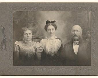 The Allentown Three Family Photo, c. 1900