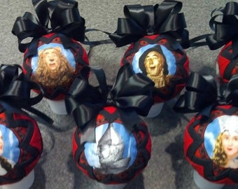 Handmade Wizard of Oz Ornaments