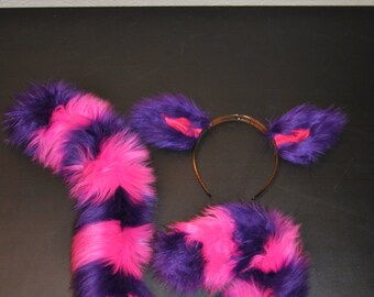 Cheshire Cat Ears and Tail!
