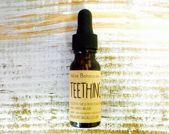 Teething Oil, 1/2oz, All Natural, Organic Ingredients
