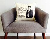 Friends: Chandler Bing Quote Pillow