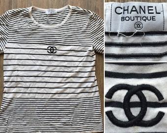 Chanel Authentic Cc Logos Camellias Stretchy White Short