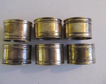 Napkin Rings, Silver Napkin Rings, India, Napkin Rings India, Silver, SilverTable Decor, Vintage Napkin Rings, Table Setting, Vintage Silver