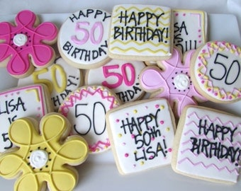 Happy Birthday Cookie Assortment