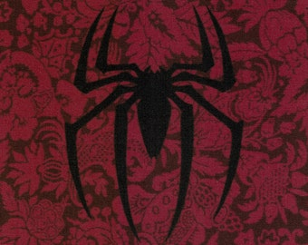 Spiderman Logo: Marvel Comics fabric print