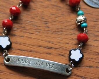 Bracelet Dias de los Muertos Erase Una Vez...