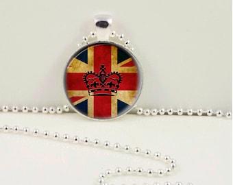 British Love Pendant