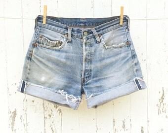 Vintage LEVIS Shorts 30 Waist Redline