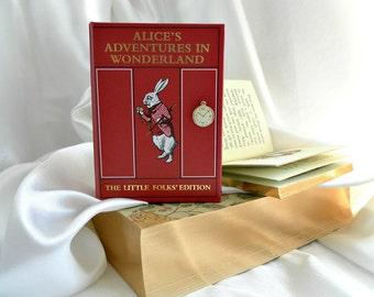 Book Purse - Alice in Wonderland