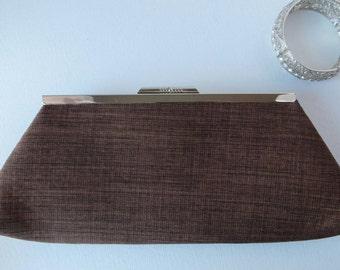 Brown clutch bag, evening clutch, wedding clutch, wedding purse,clutch purse, evening purse, purse, handbag