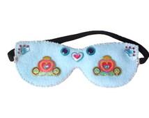 Girl Gifts - Princess Accessory - Princess Gift - Fairy Tale Eye Mask - Kids Travel - Blue Mask - Cinderella Gift - Princess Bedroom