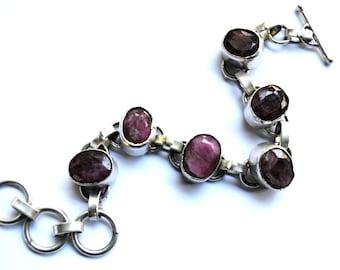 Vintage French Silver Bracelet