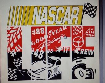 NASCAR life shirt