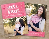 Valentines Card template - Valentines Template 5x7 - Valentines Day Card template