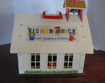 Vintage Fisher Price School House