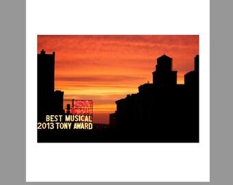 Manhattan Sunset | New York City | New York | Print | Mounted