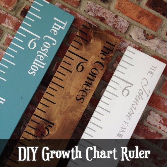 Growth Chart Ruler Stencil File Svg Jpg Pdf Cut File
