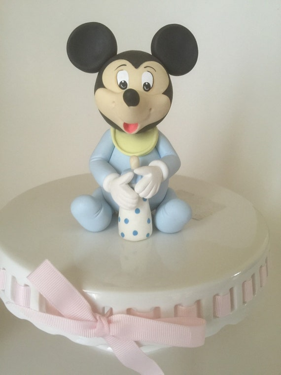 Cake Toppers Baby Mickey : Baby Mickey Mouse Cake topper. Baby Minnie Mouse by ...