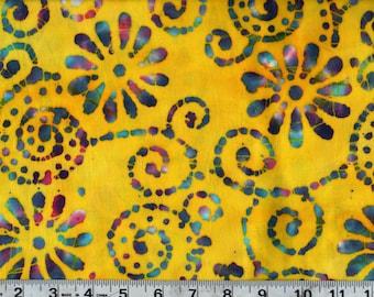 Quilter's Batik Cotton Quilting Fabric End of Bolt Sale #QB134