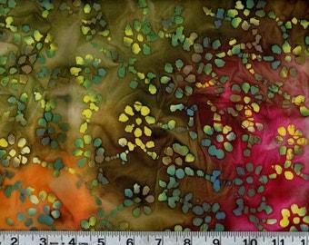 Quilter's Batik Cotton Quilting Fabric #QB136