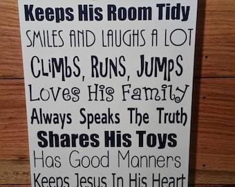 A True Prince sign