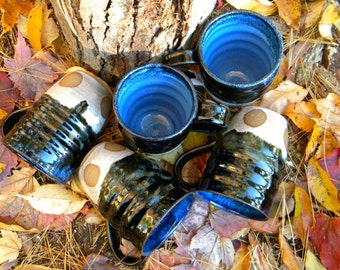 4 Circles, 4 Directions - Ceramic Mug