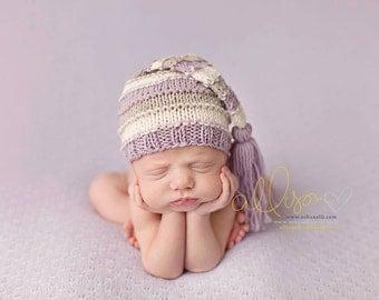 Newborn Hat, Newborn Hat Pattern, Knit Pattern, Leo