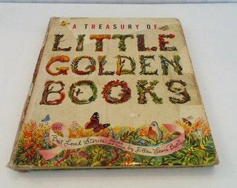 A Treasury Of Little Golden Books Childrens Books