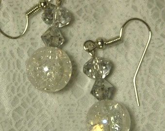 clear earrings for work dangles l etsy 4088