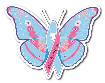 S.I.D.S Awareness Sticker Decal or Magnet Set