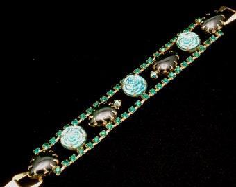 Colorful Stones Bracelet Vintage