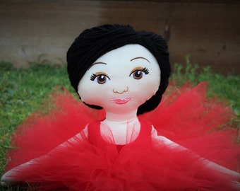 Cloth Ballerina Doll