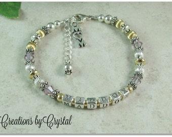 Custom Mothers Bracelet -