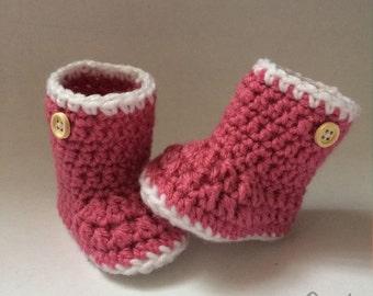 Baby Booties (Crochet)