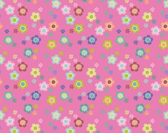 Blend Fabrics - Dainty Blooms Pink - Paisleigh Collection - 101.108.03.1