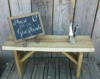 Wedding Guest Bench Create Your Own