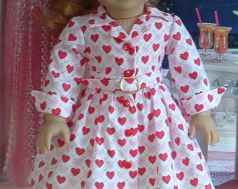 1950's Style Valentines Dress for Maryellen