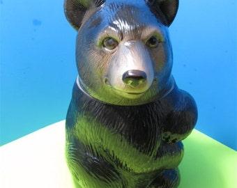Rare Eddie Bauer Bear Ceramic Cookie Collectible Animal Bear Japan