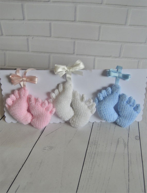 Knitting For Dummies Free Download : Knitting pattern baby feet pram charm
