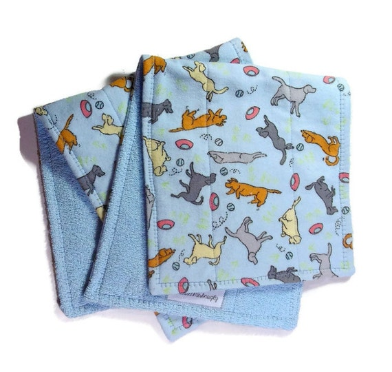 Wash Burp Cloths Before Use: Baby Burp Cloths Baby Shower Gift 2 Burp Cloths By
