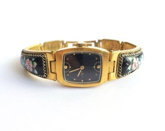 Russian Women's vintage watch, Gold vintage watch. Soviet watch, Women's soviet watch, Russian watch, Luch, Mechanical watch. unique watches
