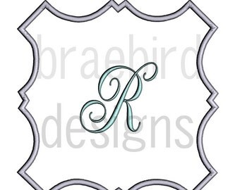Bracket Border Applique 3 Sizes Frame