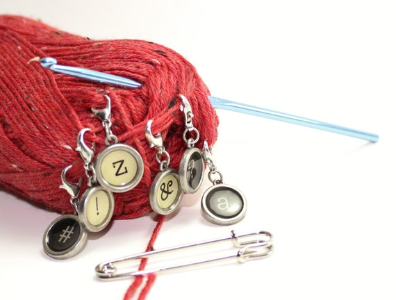 Typewriter Stitch Markers
