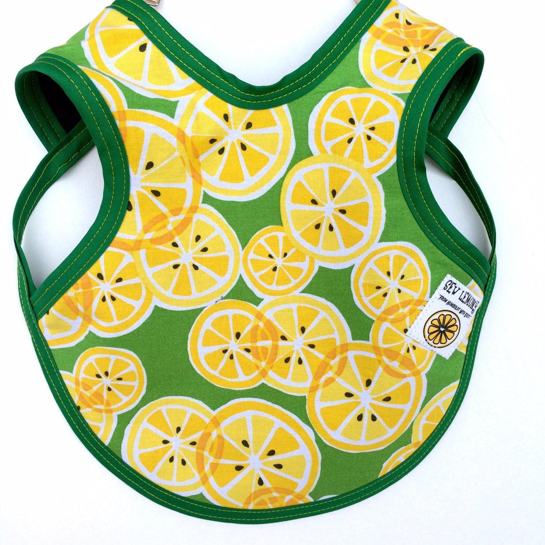 Lemon Baby Bib Lemony Baby Clothesbaby girl bib Lemonade
