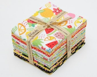 SALE! -- Fresh Market Fat Quarters Bundle includes 15 fat Quarters by Bella Blvd forRiley Blake Designs